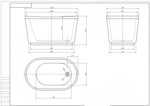... gruppen Badrum   Badkar   Designbadkar hos Trygghandel Sverige AB (TO ·  Badkar - Titus 548e12870557e