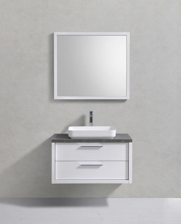 ares 90 cm vit badrumsm bler. Black Bedroom Furniture Sets. Home Design Ideas